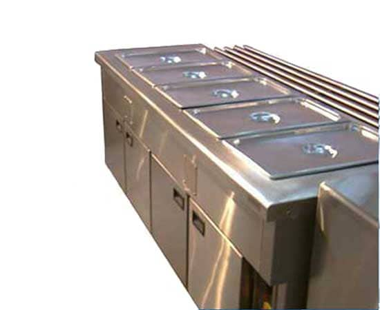 Bain Marie With Food Warmer