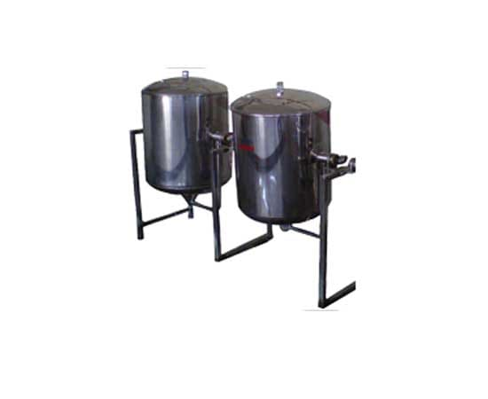Single Jacketed Vessel