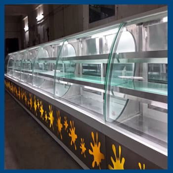 Cold Refrigeration Display Counter