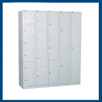 MS Powder Coated Locker