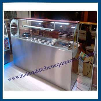 Bain Marie With Display Counter