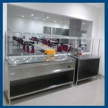 Bain Marie With Pickup Counter